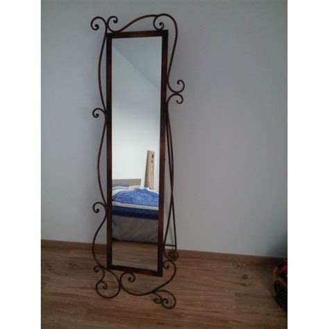 miroir fer forge noir 111 miroir en fer forge noir miroir style d co d 39 occasion miroir en acier style fer
