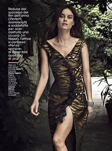 Kasia Smutniak for Glamour Magazine Italy October 2016 ...