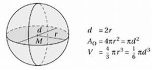 Kugel Berechnen Formel : k rper mit gekr mmten begrenzungsfl chen vektorrechnung und analytische geometrie des raumes ~ Themetempest.com Abrechnung
