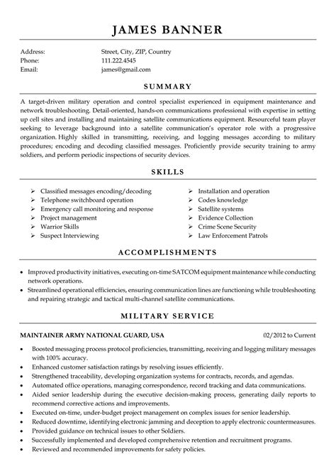 Resume Samples for Free