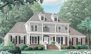 house plans with large porches this large 4 bedroom southern home has a grand entrance with porch and balcony southern house