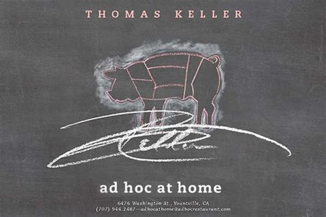 ad hoc cuisine eaten a meal from keller s ad hoc at home