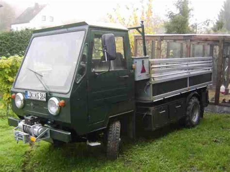 multicar m25 kaufen multicar m25 diesel bj 1983 mit seilwinde und
