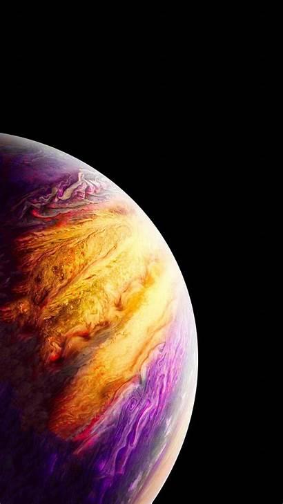 Iphone Planet Jupiter Wallpapers 4k Xs خلفيات