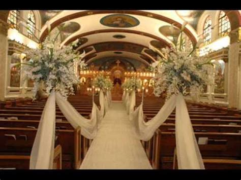 unique wedding church decorations for your pew youtube