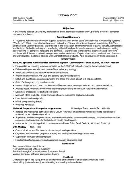 sample resume  experienced  professional sample