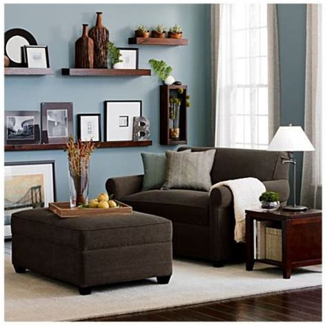 accent colors   brown couch images