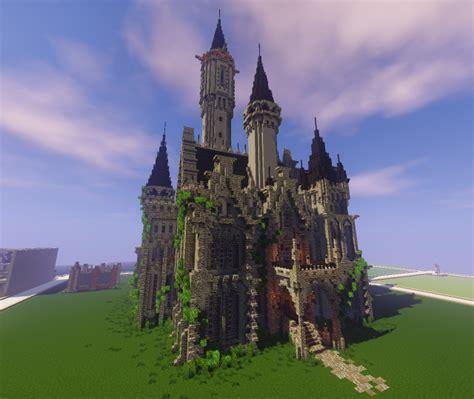 minecraft huge castle tutorial step  step