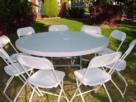 round tables and chairs for rent house party rental supply