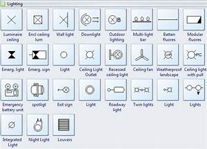 wiring plan symbols With lamp floor plan symbol