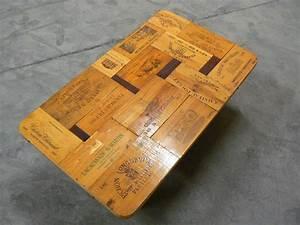Caisse De Vin En Bois : table basse caisse de vin 007 ~ Farleysfitness.com Idées de Décoration