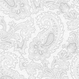 Gray Watermark Paisley Background Seamless Pattern ...