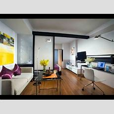 Small Studio Apartment Living Interior Design Home Decor