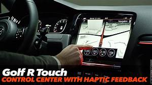Golf R Touch : vw golf r touch control center with haptic feedback ~ Medecine-chirurgie-esthetiques.com Avis de Voitures