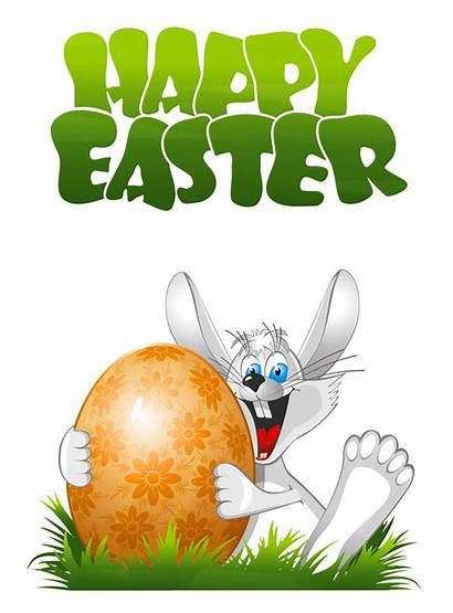 Easter Transparent Bunny Happy Clip Clipart Lapins