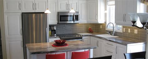 cuisine renovee rénovation cuisine rénovation salle de bain victoriaville top finition ab