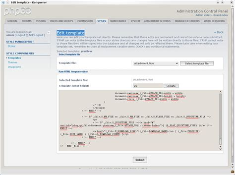 template editor phpbb 3 review forum software reviews