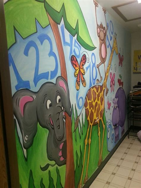 school murals 10 handpicked ideas to discover in other 872 | ee9d9c0026780656b3879a841abd68bb daycare forms kids daycare