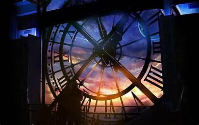 Tower Fantasy Clocks Artwork Wallpapers Timelapse Concept