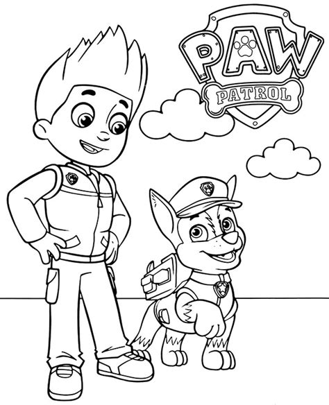 That's why they also will loove these paw patrol coloring pages. Paw Patrol Coloring Pages   Free Printable Coloring Page