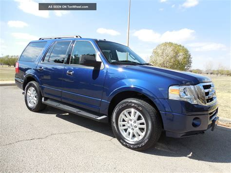 2012 Ford Expedition Xlt by 2012 Ford Expedition Xlt 4wd 3 Row 8 Pass Sync Sirius