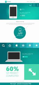 16 Premium And Free PSD Website Templates