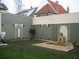 mur palissade excellent cloture jardin palissade mur With good barriere securite piscine leroy merlin 4 barriare piscine clature piscine leroy merlin