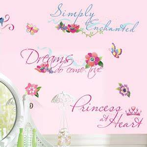 disney princess quotes wall decals with glitter wall With beautiful disney quotes wall decals