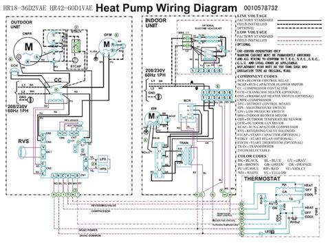 Trane Heat Pump Wiring Diagram Compressor Fan