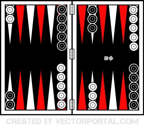 backgammon board vector   vector art