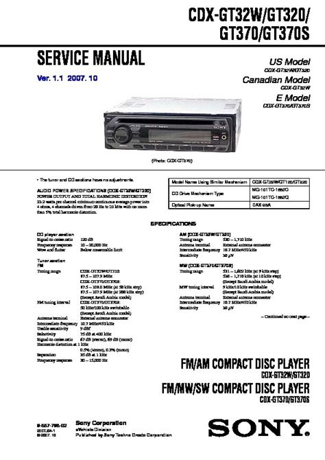 sony cdx f5710 wiring diagram wiring diagram and schematic diagram images