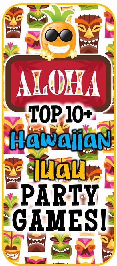 Luau Hawaiian Party Games Theme Play Diy