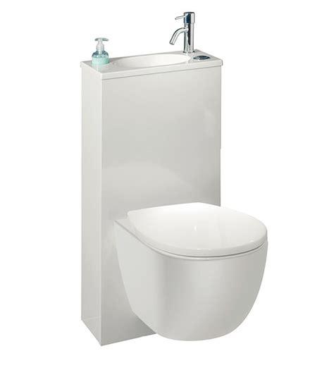 wc suspendu gain de place trio par si