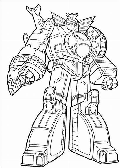 Rangers Power Coloring Pages