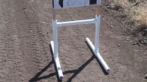 portable shooting table pvc target stand