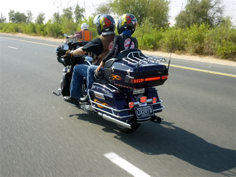 Harley-davidson Bikers Going The Extra Mile For A Good Cause
