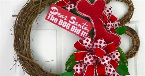 dog paw wreath hometalk