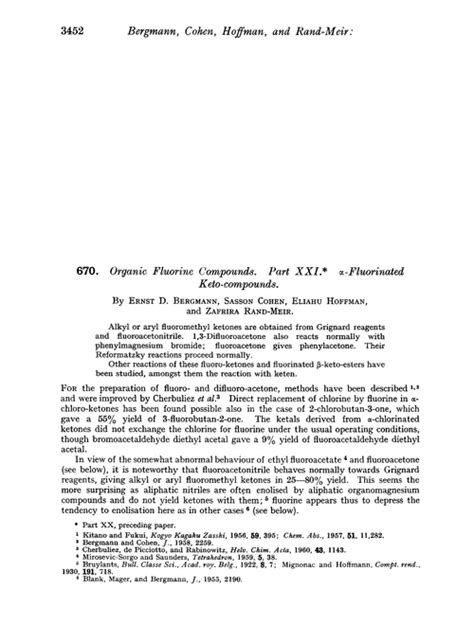 organic fluorine compounds part xxi  fluorinated