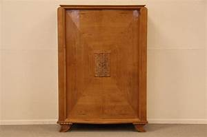 Armoire Art Deco : midcentury or art deco cherry armoire traditional armoires and wardrobes by harp gallery ~ Melissatoandfro.com Idées de Décoration