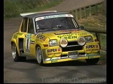renault 5 rally renault 5 maxi turbo historic rally car 1 2 youtube