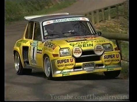 renault turbo rally renault 5 maxi turbo historic rally car 1 2 youtube