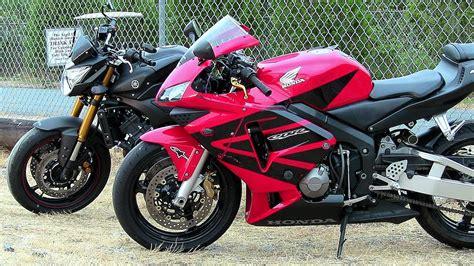 Honda Suzuki by Bikes Racing Yamaha Vs Hayabusa Vs Honda Cbr Vs