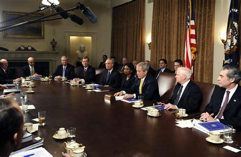 the presidents cabinet condoleezza rice photos photos us president bush meets