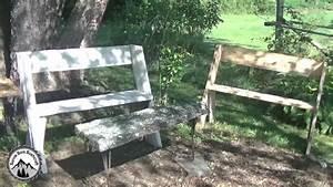 Fabriquer Un Banc D Interieur : comment fabriquer un banc l opold projet en bois pour le jardin youtube ~ Melissatoandfro.com Idées de Décoration