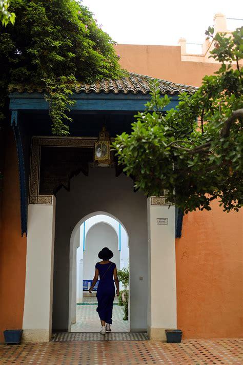 remarkable bahia palace marrakech morocco