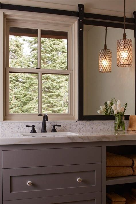Bathroom Door Mirrors by Placing Mirrors In Front Of Windows New House Modern