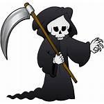Reaper Grim Clipart Clip Transparent Background Death