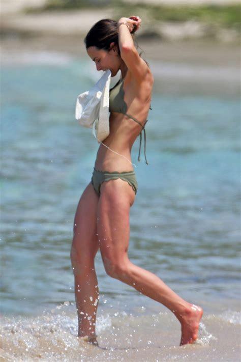 jordana brewster swimsuit jordana brewster in a bikini on a beach during a vacation