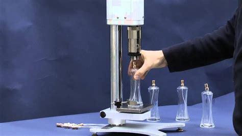 perfume manual crimping machine mod apl flagrance bottle crimper youtube