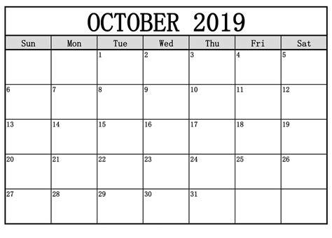 october  calendar  festivals editable template